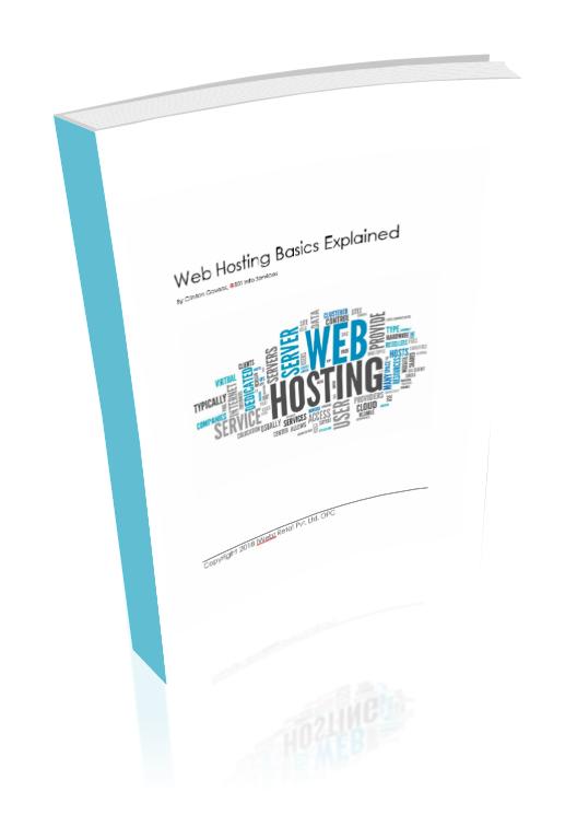 web hosting basics explained book